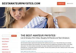 The Best Amateur Paysites